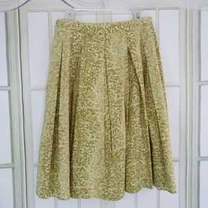 Talbots skirt pleaded A-line skirt size 8